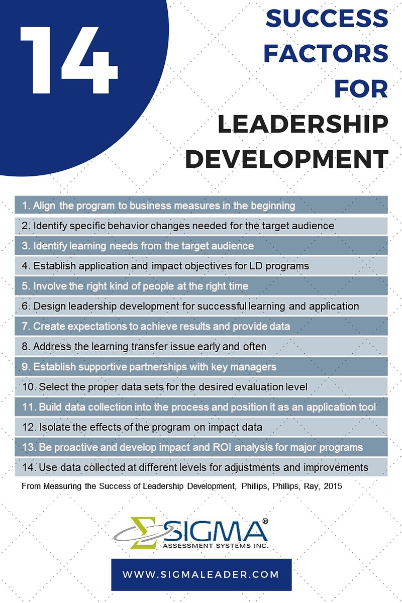 measure success in leaders sigma assessment systems