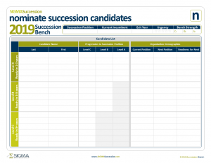 Succession Bench Template - Sigma Assessment Systems