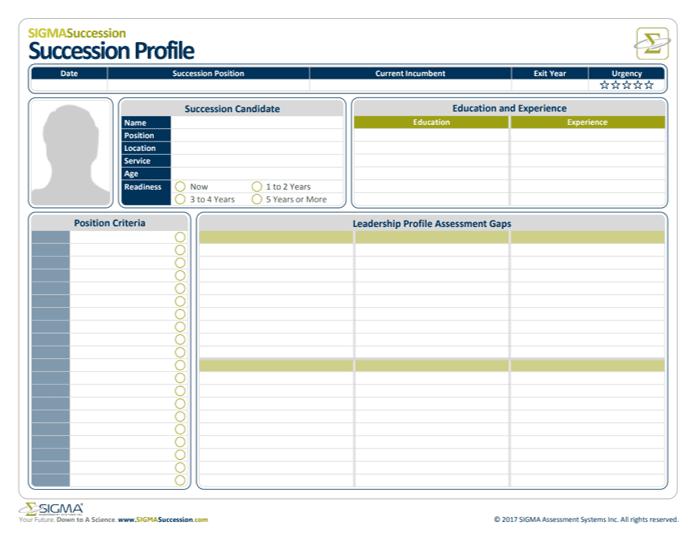 Succession Profile